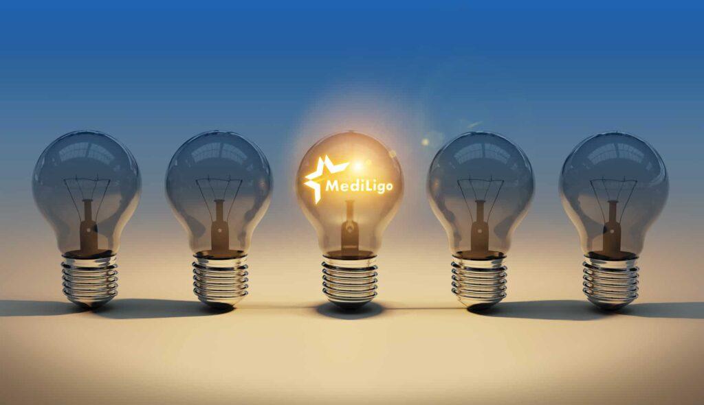 Mediligo Logo žarulje