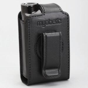 Rotirajuća kožna torbica crna