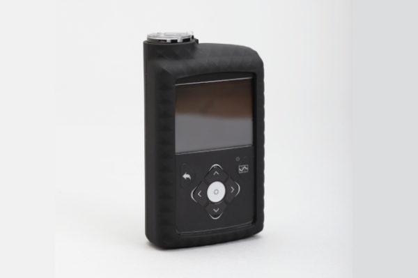 Silikonska zaštitna navlaka za MiniMed™ 640G inzulinsku pumpu crna
