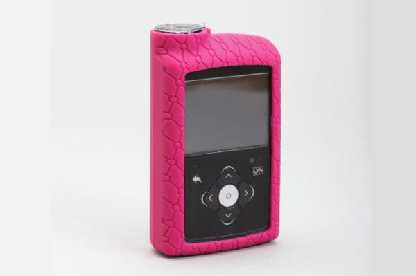 Silikonska zaštitna navlaka za MiniMed™ 640G inzulinsku pumpu roza