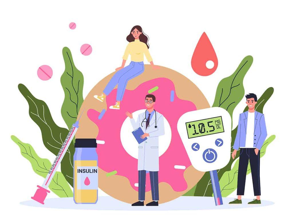 Secerna bolest i glukoza